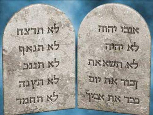 Sono superati i dieci comandamenti?